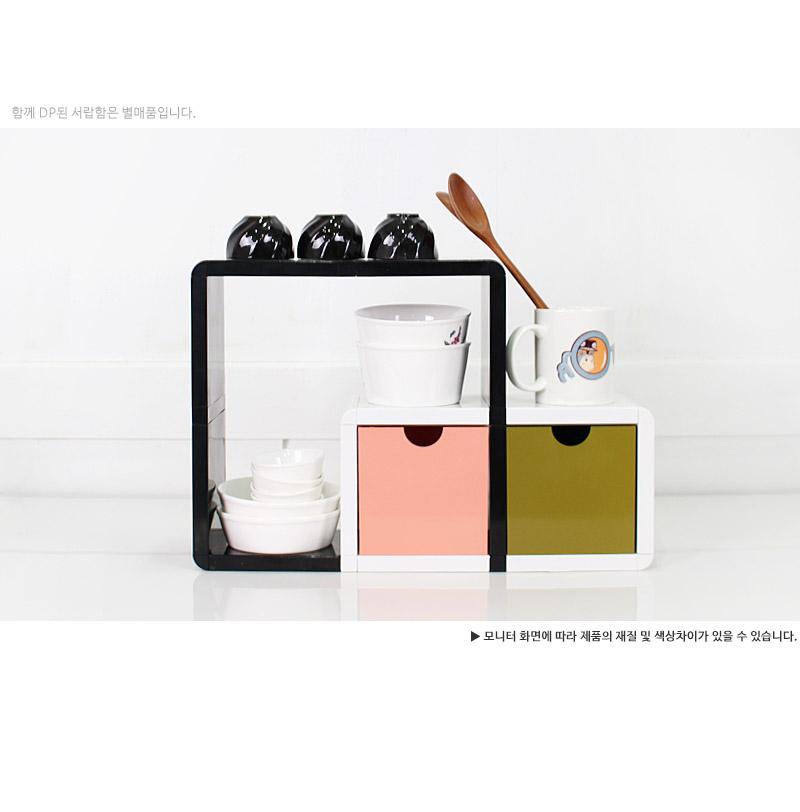 큐빅스미니 진열장 달팽이 - 큐빅스미니, 34,800원, 주방수납용품, 수납함