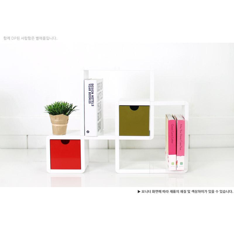 큐빅스미니 진열장 네모의꿈 - 큐빅스미니, 53,600원, 주방수납용품, 수납함